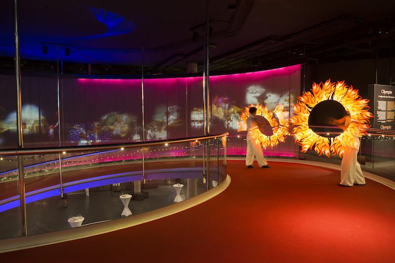 organisation soirée du personnel musée olympique, louer musée olympique, agence évènementielle genève